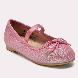 Cat & Jack Princess Glitter shoes Pink